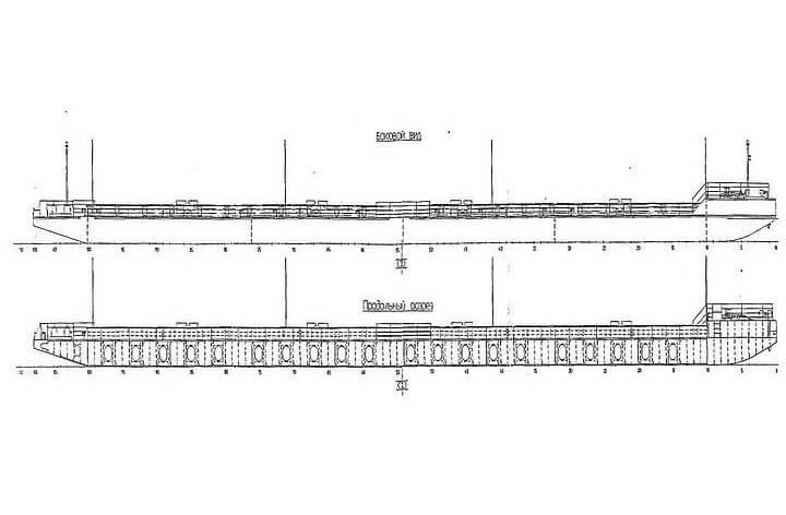 Баржа-площадка, проект 2927/81218
