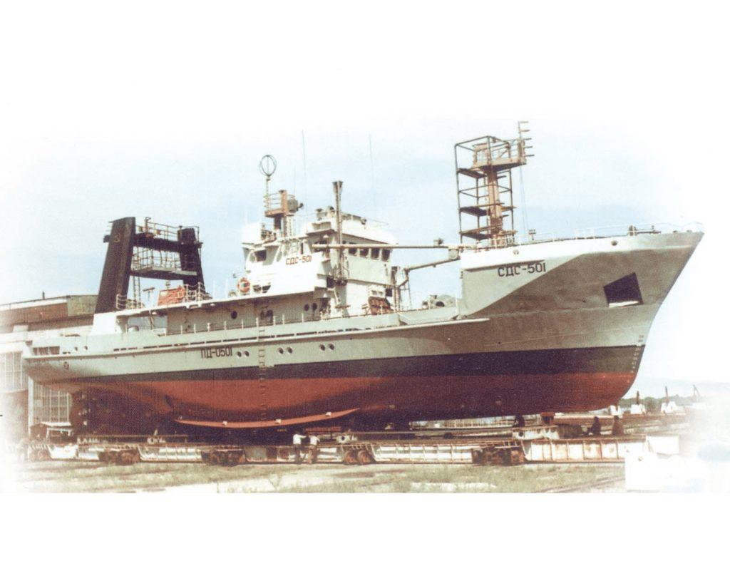 """Среднетоннажное промысловое судно СДС-600 типа """"Приморье"""""""