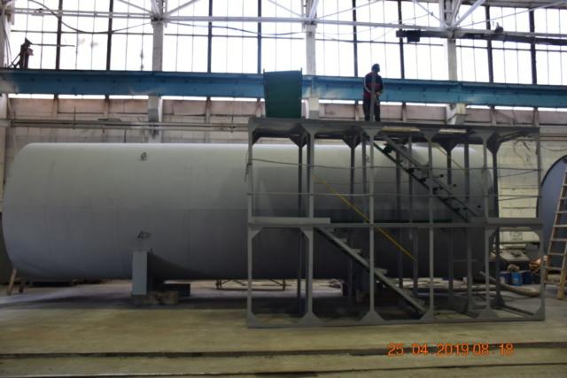 Резервуары цилиндрические
