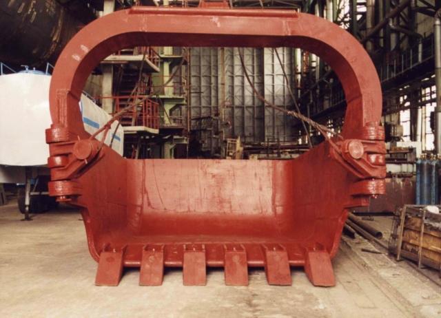 Изготовление и ремонт ковшей для шагающих экскаваторов