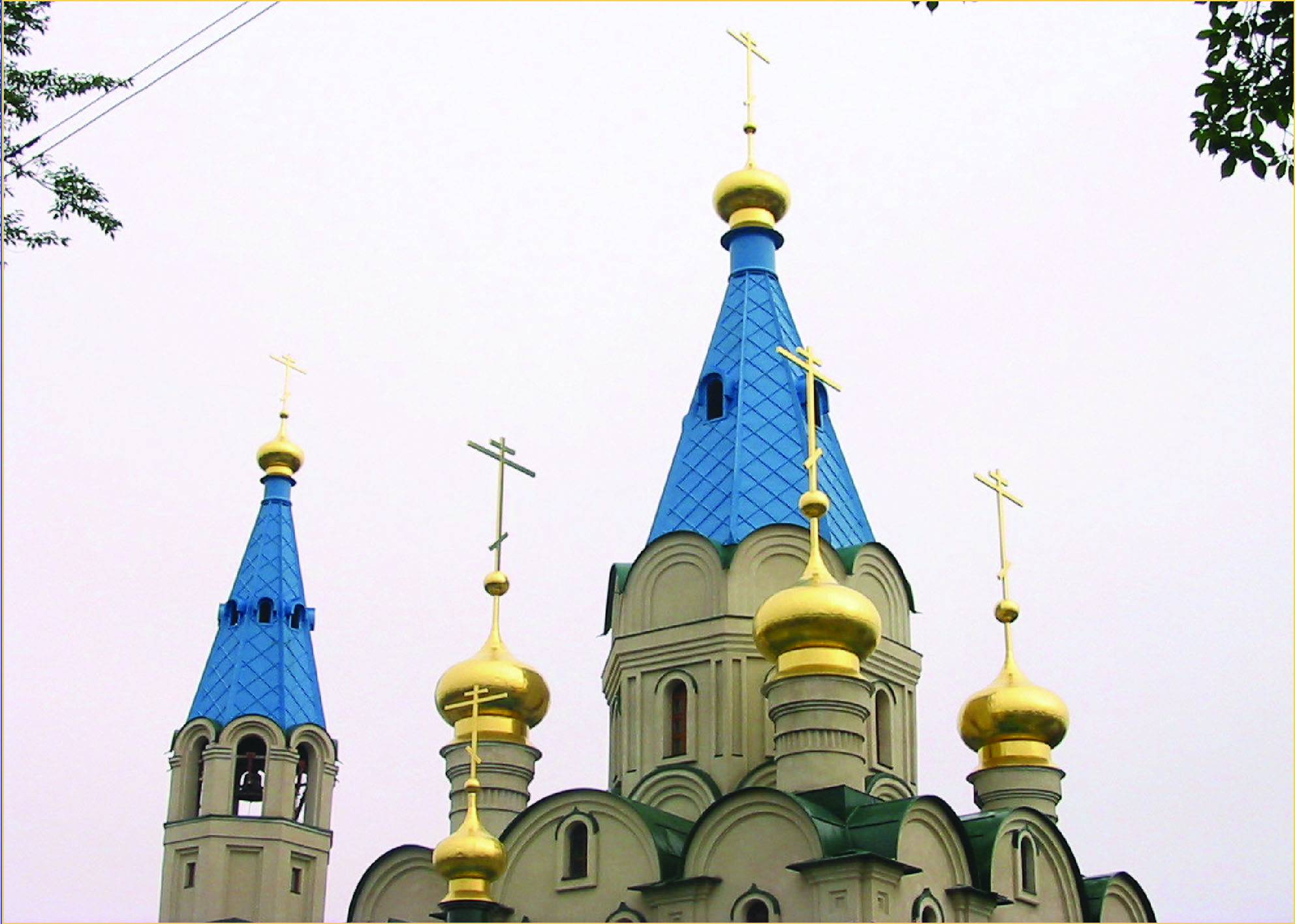 Изготовление куполов и шатровых крыш