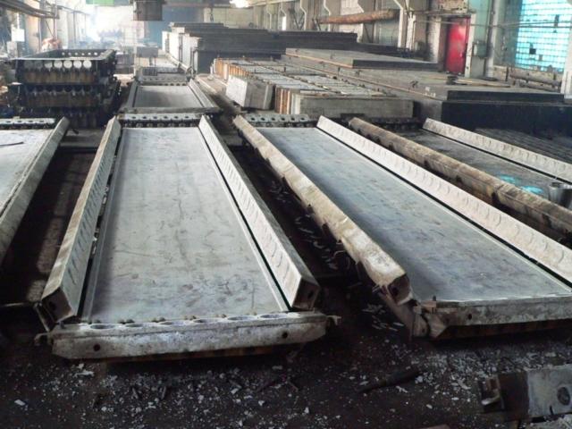 Формы стальные для пустотных плит ПК63-12, ПК60-12, ПК30-12