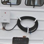 электрощит для подключения к  береговой электросети