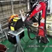 Кран манипулятор груз 200 кг,  стрела до 3,5 м