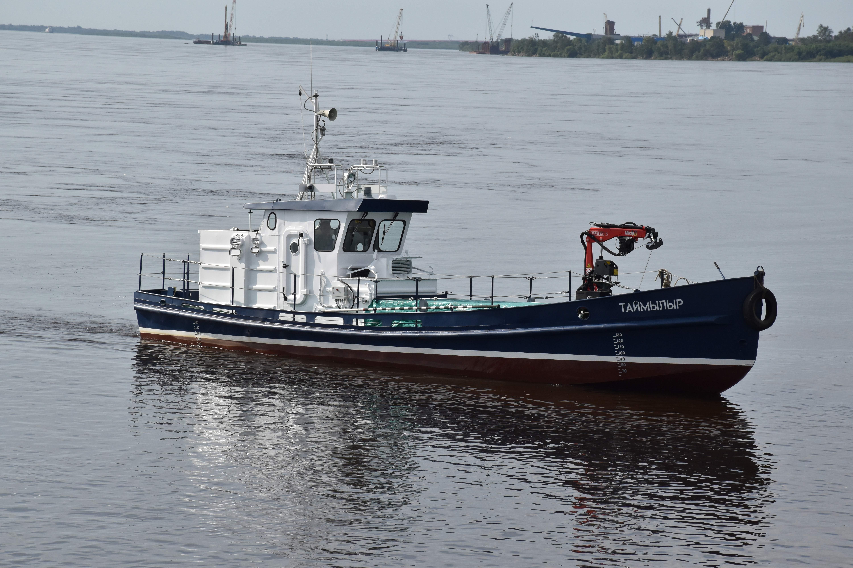 Заказчику из Республики Саха (Якутия) передано новое маломерное судно