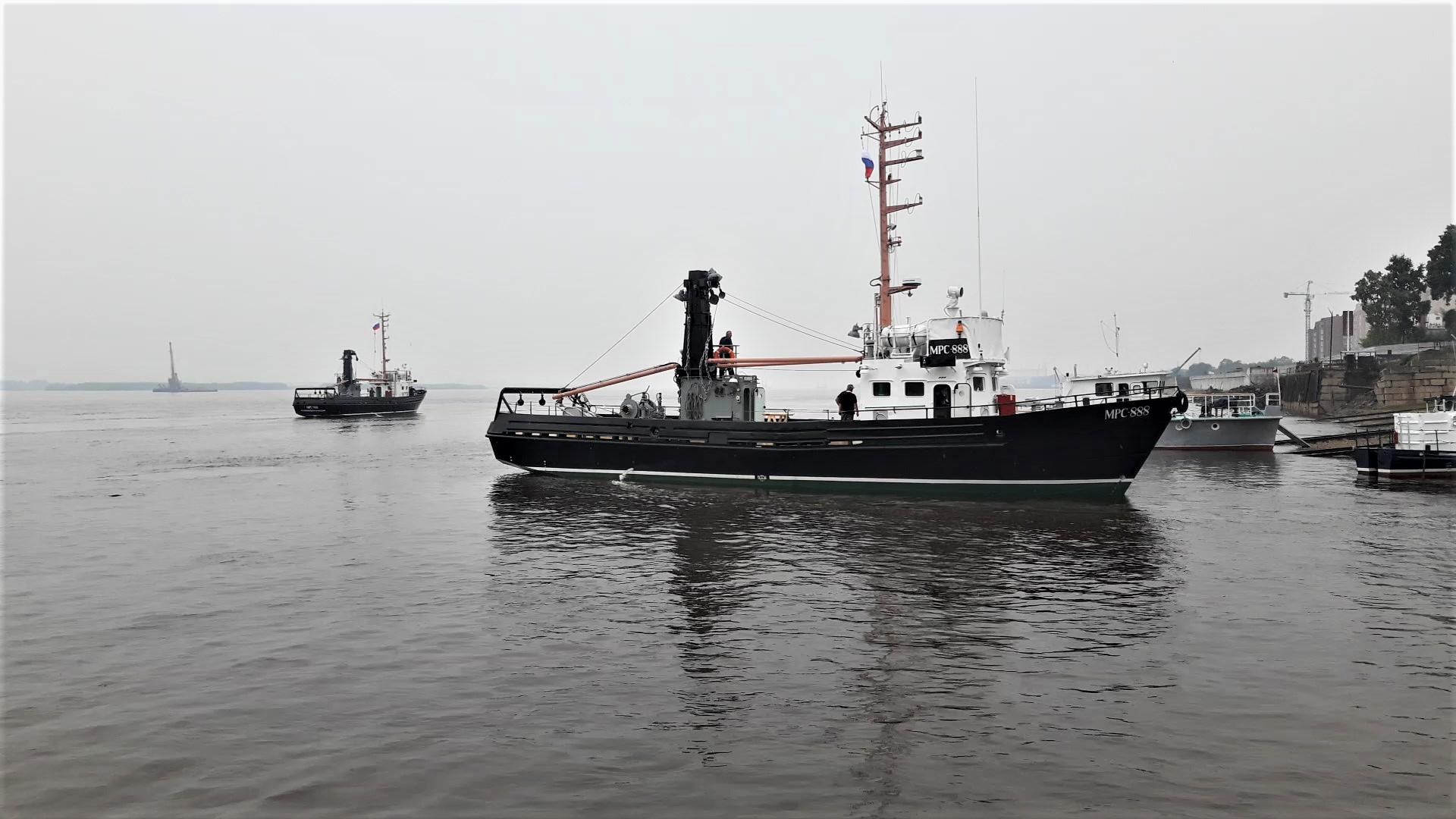 Построенные сейнера отправились на Камчатку