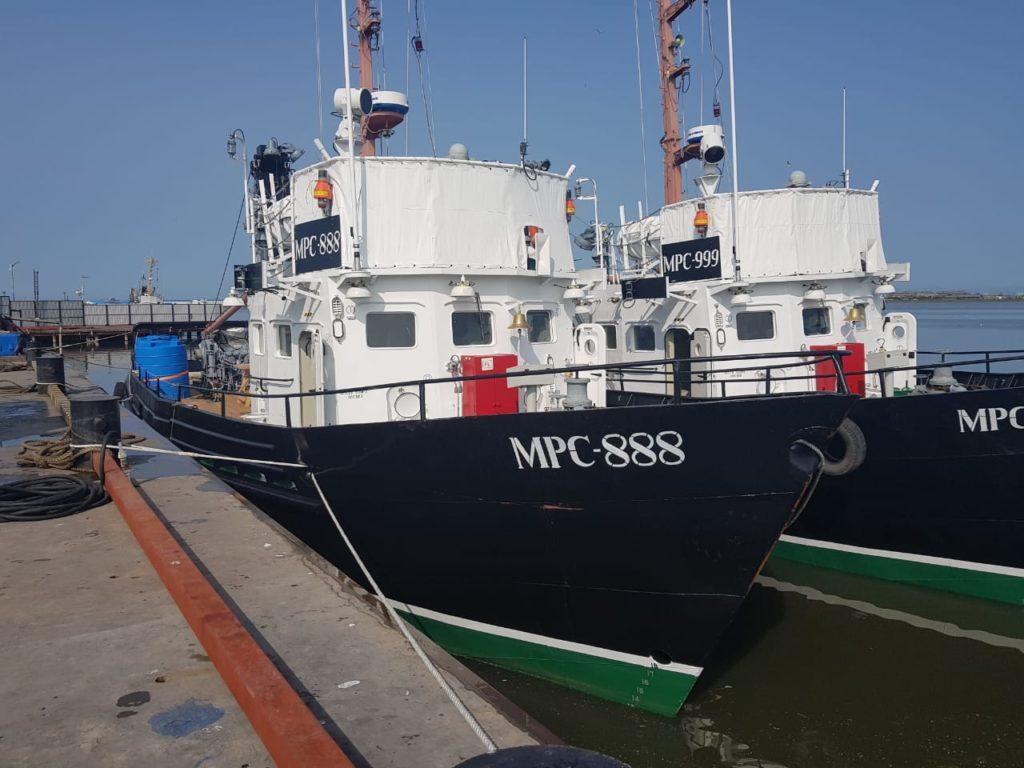 Малые рыболовные суда прибыли в Усть-Камчатск