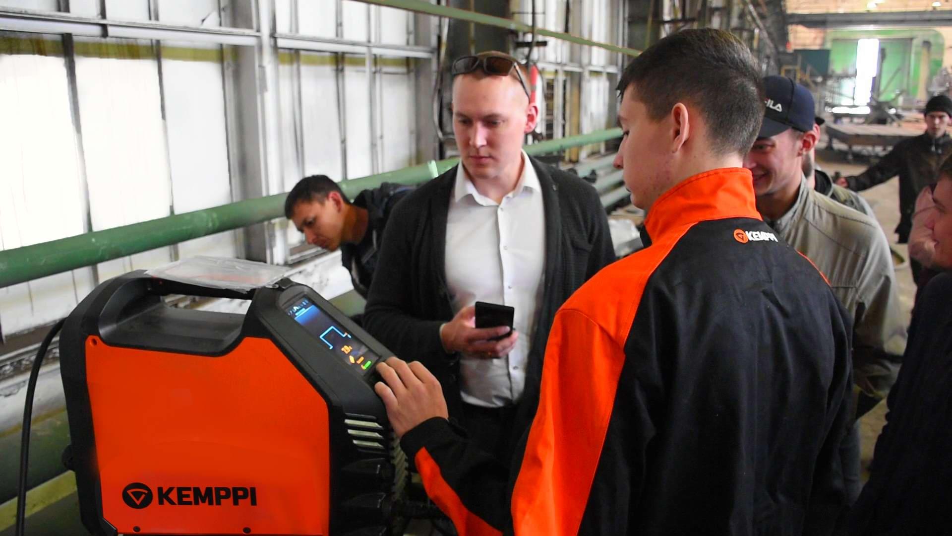 Сварочное производство - основное направление в кадровой политике завода
